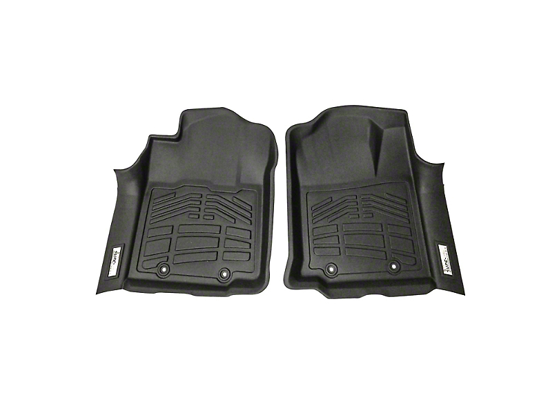 Next Edge Sure-Fit Front Floor Liners - Black (12-15 Tacoma)