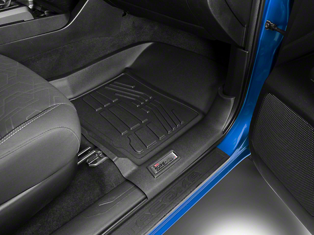 Next Edge Sure-Fit Front Floor Liners - Black (16-19 Tacoma)