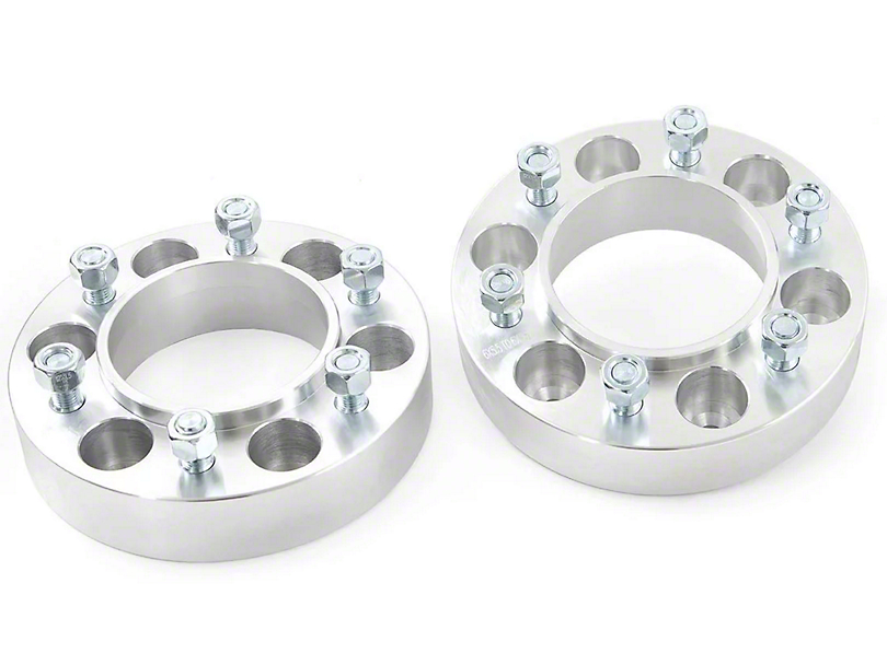 Rough Country 1.5 in. 6-Lug Wheel Spacers (05-20 4WD Tacoma)
