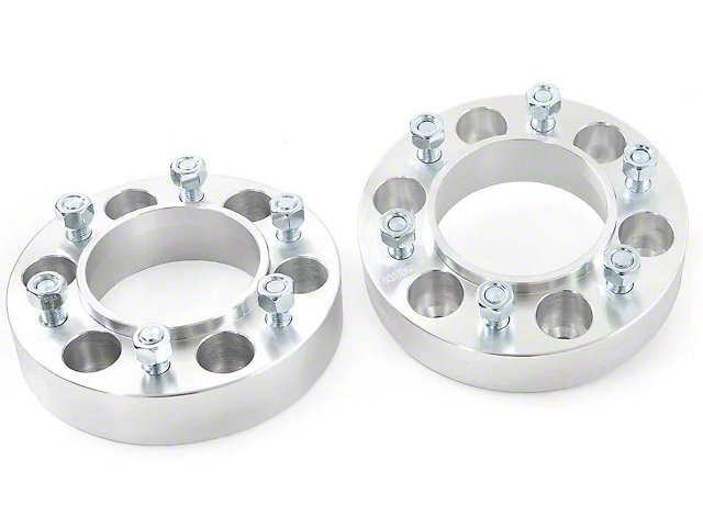 Rough Country 1.50-Inch 6-Lug Wheel Spacers (05-21 4WD Tacoma)