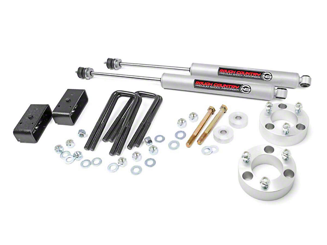 Rough Country 3-Inch Suspension Lift Kit (05-20 6-Lug Tacoma)