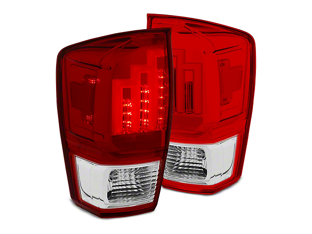 Red LED Tail Lights (16-19 Tacoma)