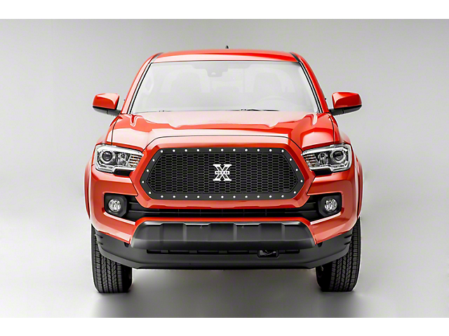 T-REX Laser X-Metal Series Upper Grille Insert - Black (16-17 Tacoma)