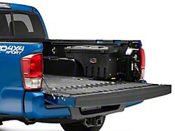 UnderCover Swing Case Storage System; Passenger Side (05-18 Tacoma; 19-21 with Storage Box)