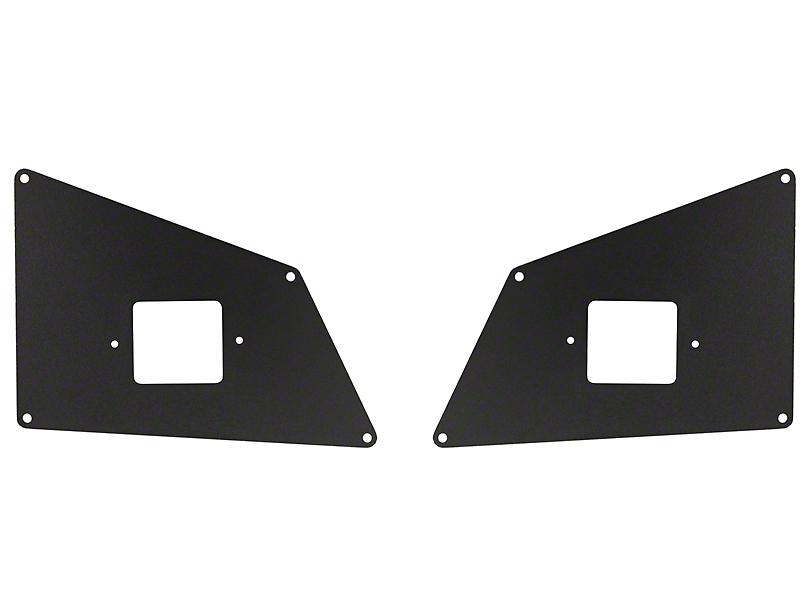 Go Rhino BR5 Front Bumper Ignite Light Plates (16-20 Tacoma)