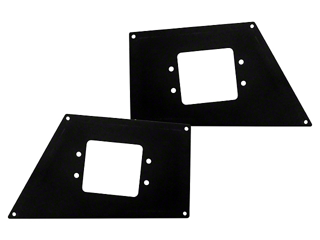 BR5 and BR10 Front Bumper Flush Mount Light Plates (16-20 Tacoma)