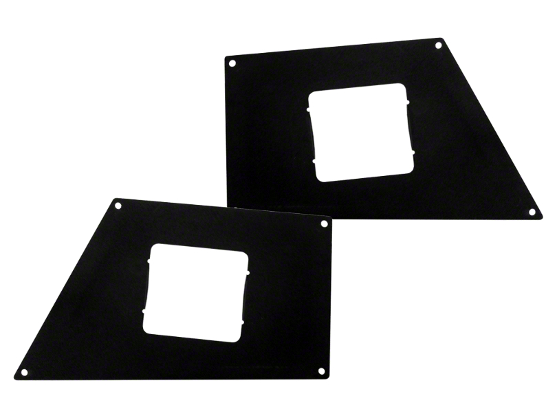 Go Rhino BR5 & BR10 Front Bumper Surface Mount Light Plates (16-20 Tacoma)