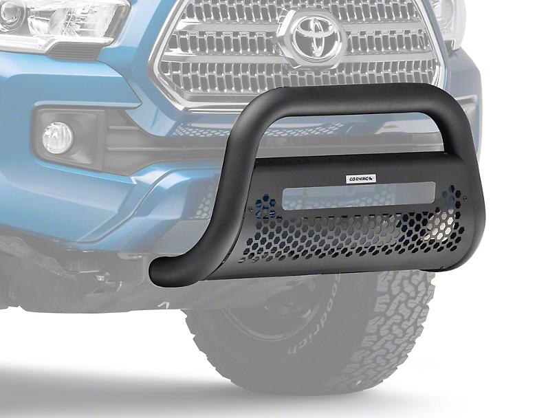 Go Rhino RC2 LR Bull Bar w/ Skid Plate - Textured Black (16-20 Tacoma)