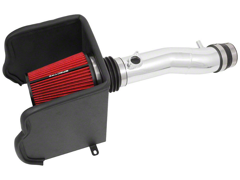 Spectre Performance Cold Air Intake; Polished (16-20 3.5L Tacoma)