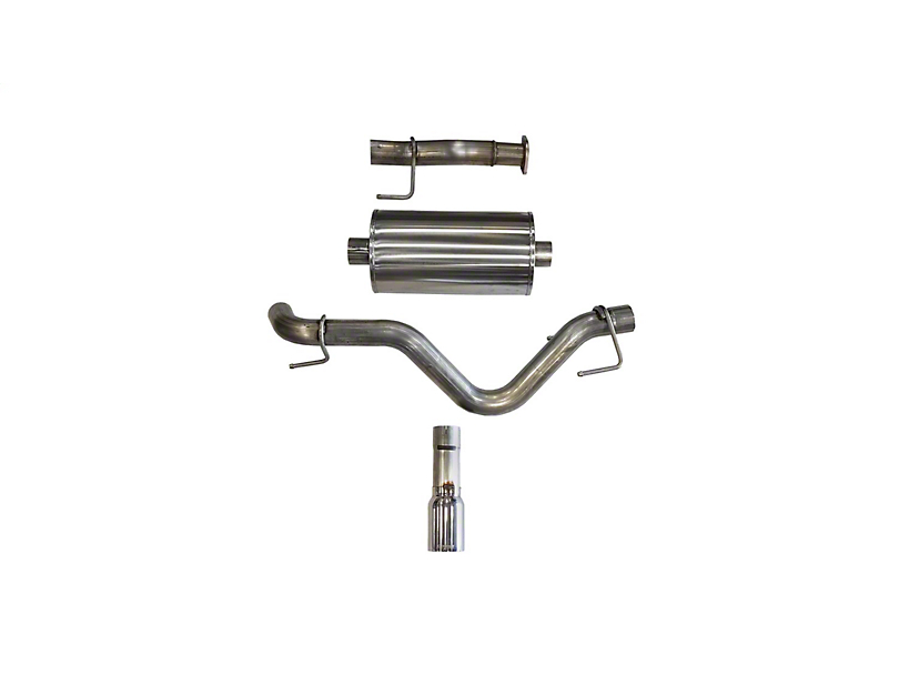 Corsa 3 in. Sport Single Exhaust System w/ Polished Tip - Side Exit (16-19 3.5L Tacoma)