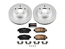 Power Stop Z17 Evolution Plus 5-Lug Brake Rotor and Pad Kit; Front (05-15 Tacoma)