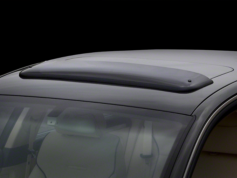 Weathertech Sunroof Wind Deflector - Dark Smoke (16-20 Tacoma)