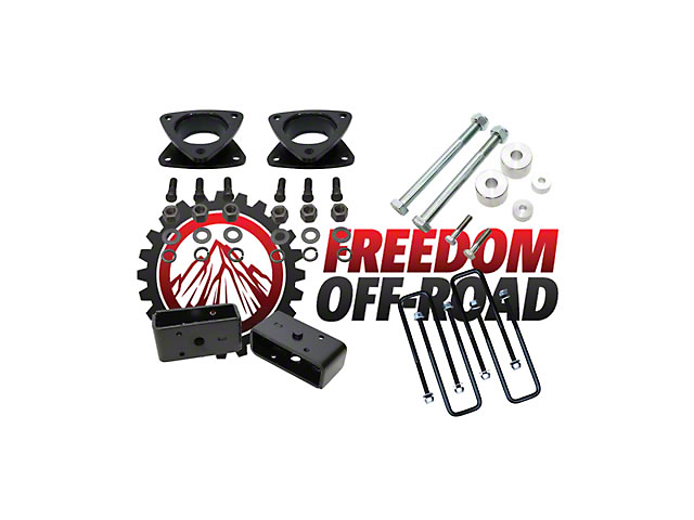 Freedom Offroad 3 in. Suspension Lift Kit w/ Differential Drop Spacer (05-19 4WD Tacoma)