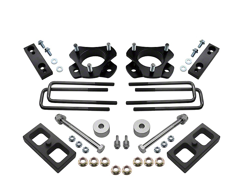 Bison Off-Road 3 in. Front / 1 in. Rear Lift Kit (05-19 6-Lug Tacoma)