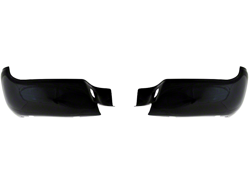 BumperShellz Rear Bumper Covers - Gloss Black (05-15 Tacoma)