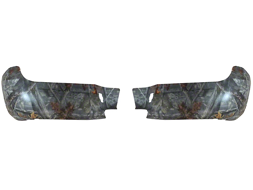 BumperShellz Rear Bumper Covers; Branching Out Camouflage (05-15 Tacoma)