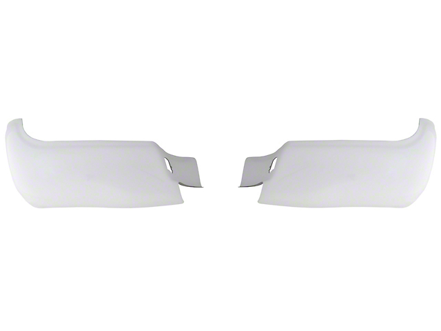 BumperShellz Rear Bumper Covers - Gloss White (05-15 Tacoma)