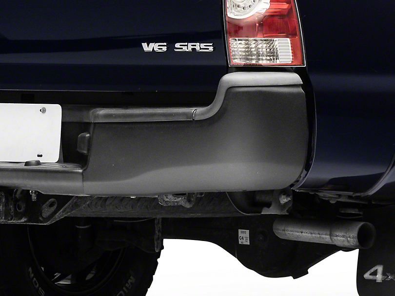 BumperShellz Rear Bumper Covers - Textured Black (05-15 Tacoma)