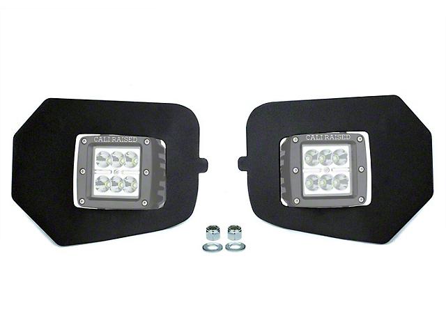 Cali Raised LED LED Fog Light Mounting Brackets (16-20 Tacoma)
