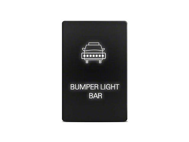 Cali Raised LED Small Style Bumper Light Bar Switch; Blue (05-21 Tacoma)
