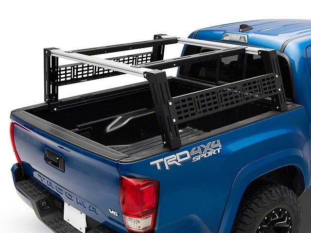 Cali Raised LED Overland Bed Rack System; Tall Profile (05-21 Tacoma)
