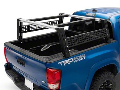 Cali Raised Led Tacoma Overland Bed Rack System Tall Profile Tt6270 05 21 Tacoma