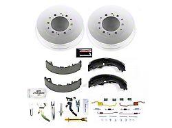 Power Stop OE Replacement 6-Lug Brake Rotor and Pad Kit; Rear (05-21 Tacoma)