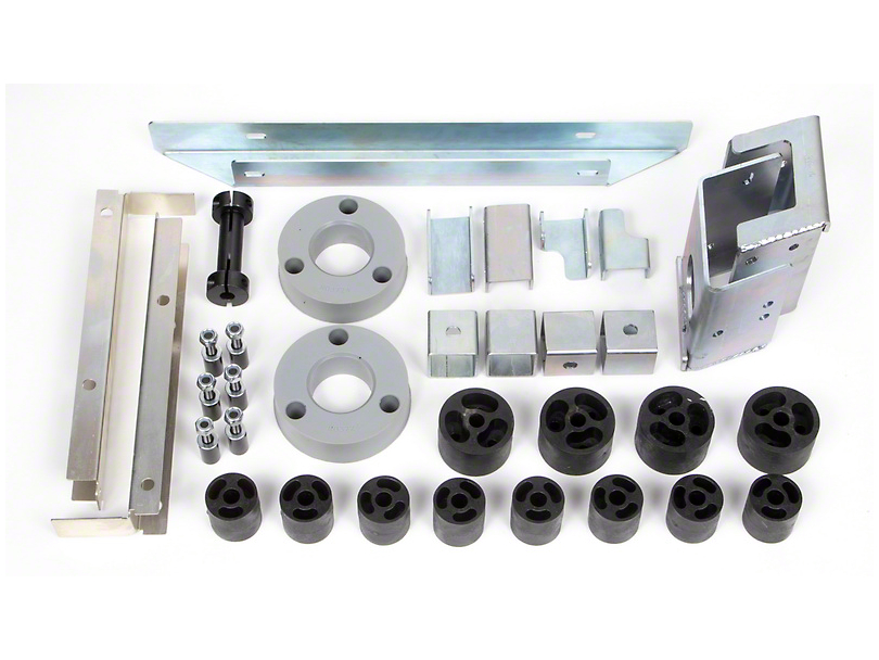 Daystar 4.0 in. Series Tactical Suspension Lift Kit (16-19 Tacoma)