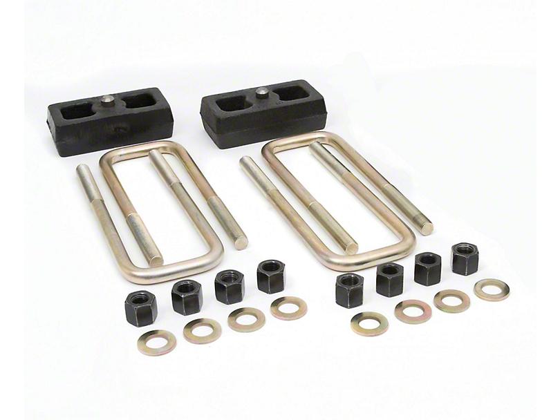 Daystar 1.50-Inch Rear Lift Block Kit (05-20 6-Lug Tacoma)