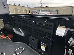 Cali Raised LED Rear Bed Molle System; Passenger Side (05-21 Tacoma w/ BAKFlip Tonneau Cover)