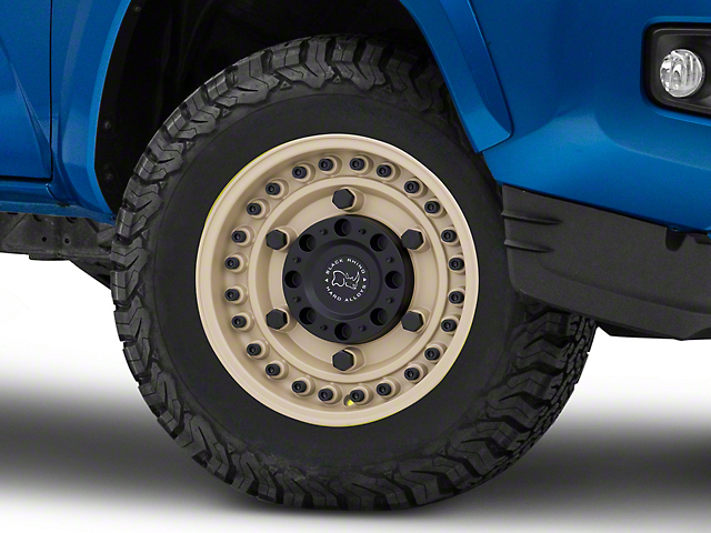 Black Rhino Armory Desert Sand 6-Lug Wheel; 17x9.5; -18mm Offset (16-20 Tacoma)