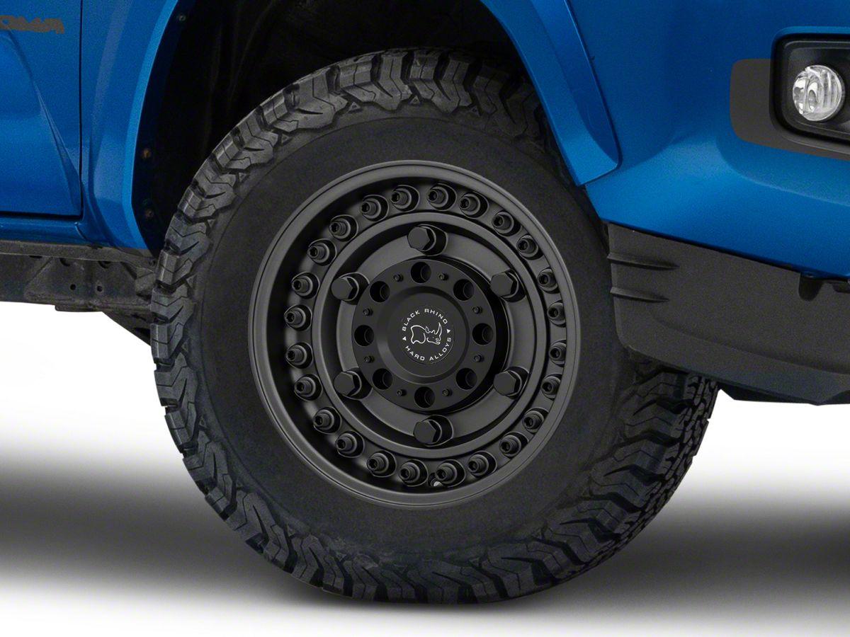 Black Rhino Tacoma Armory Gunblack 6 Lug Wheel 17x9 5 18mm Offset 1795ary 86140g12 16 20 Tacoma