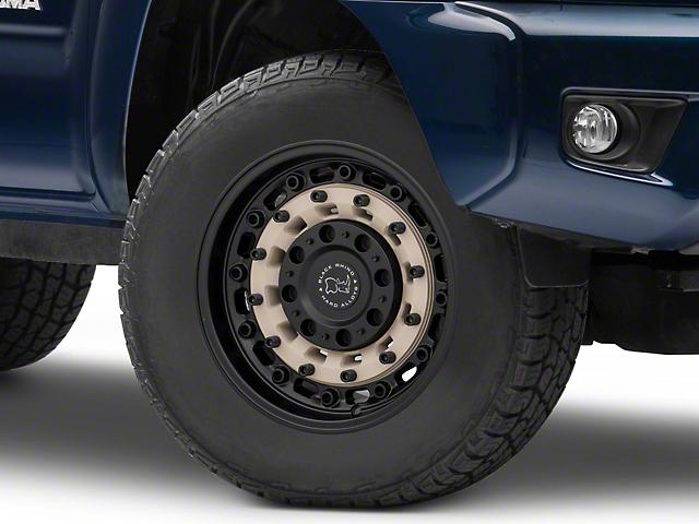 Black Rhino Arsenal Sand on Black 6-Lug Wheel; 17x9.5; -18mm Offset (05-15 Tacoma)