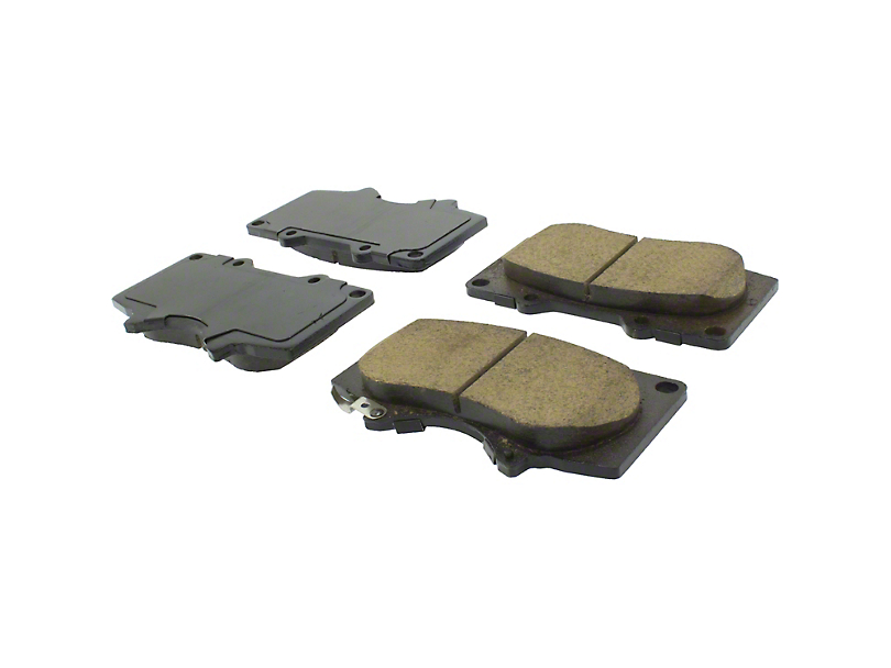 StopTech Street Select Ceramic Brake Pads; Front Pair (05-20 6-Lug Tacoma)