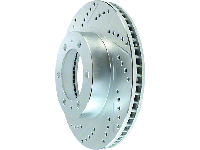 StopTech Select Sport Drilled and Slotted 6-Lug Rotor; Front (05-20 Tacoma)