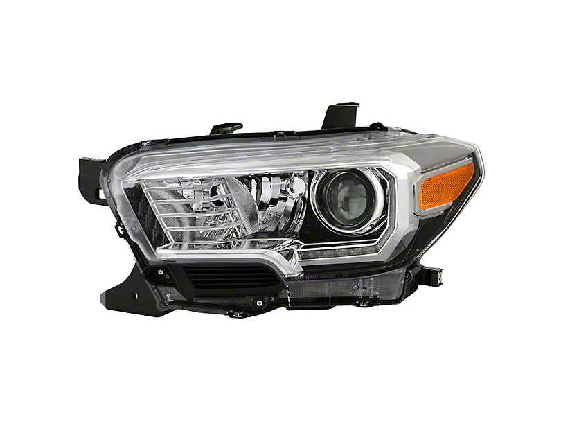 OEM Style LED DRL Projector Headlight - Driver Side (16-20 Tacoma)