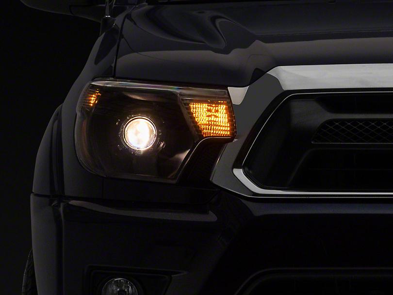 Retro Style Projector Headlights - Black (12-15 Tacoma)