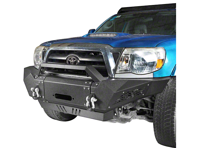 Heavy Duty Front Bumper with Over-Rider Hoop (05-15 Tacoma)