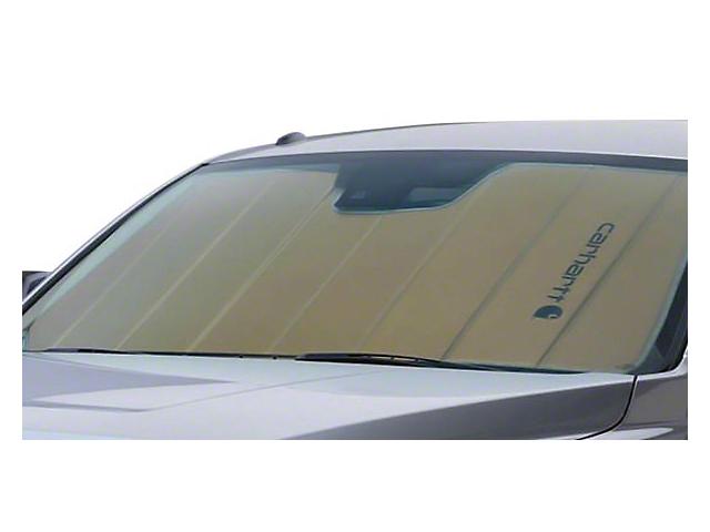Covercraft Carhartt UVS100 Custom Sunscreen; Brown (16-18 Tacoma)