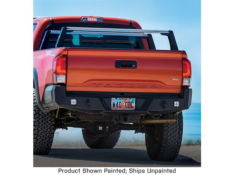 Expedition One Range Max Rear Bumper - Bare Metal (16-20 Tacoma)