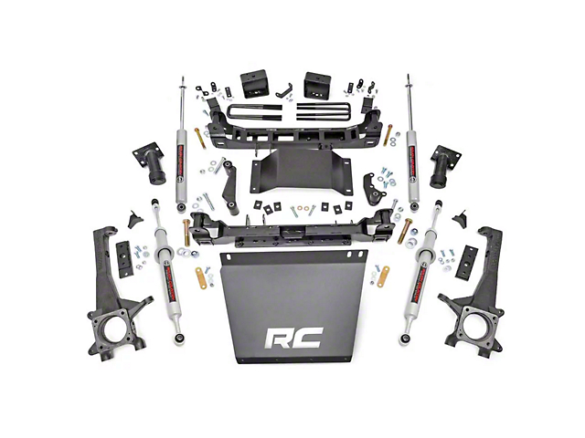 Rough Country 6-Inch Suspension Lift Kit with Lifted N3 Struts and Premium N3 Shocks (16-21 Tacoma)