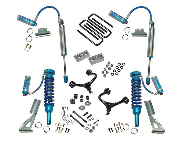 SuperLift 3-Inch King Edition Suspension Lift Kit (05-21 Tacoma, Excluding TRD Pro)