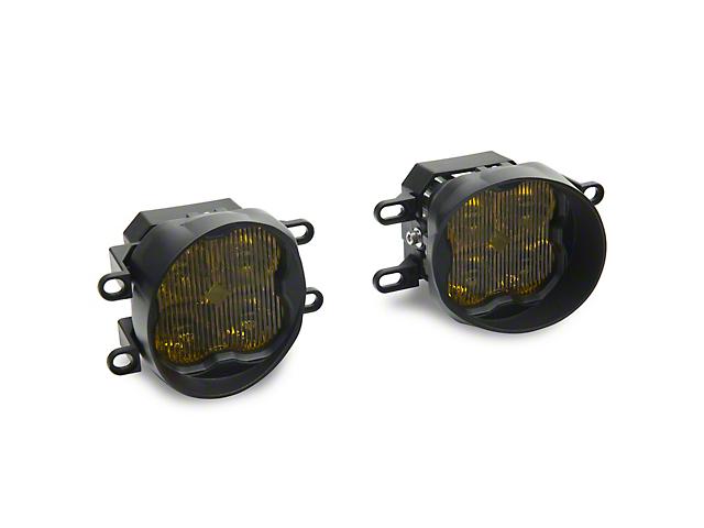 Diode Dynamics SS3 Sport Type B LED Fog Light Kit; Yellow Fog (16-21 Tacoma)