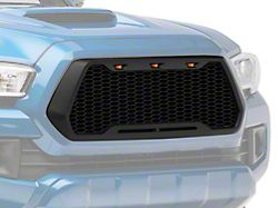 RedRock 4x4 Baja Upper Replacement Grille with LED Lighting (16-18 Tacoma)