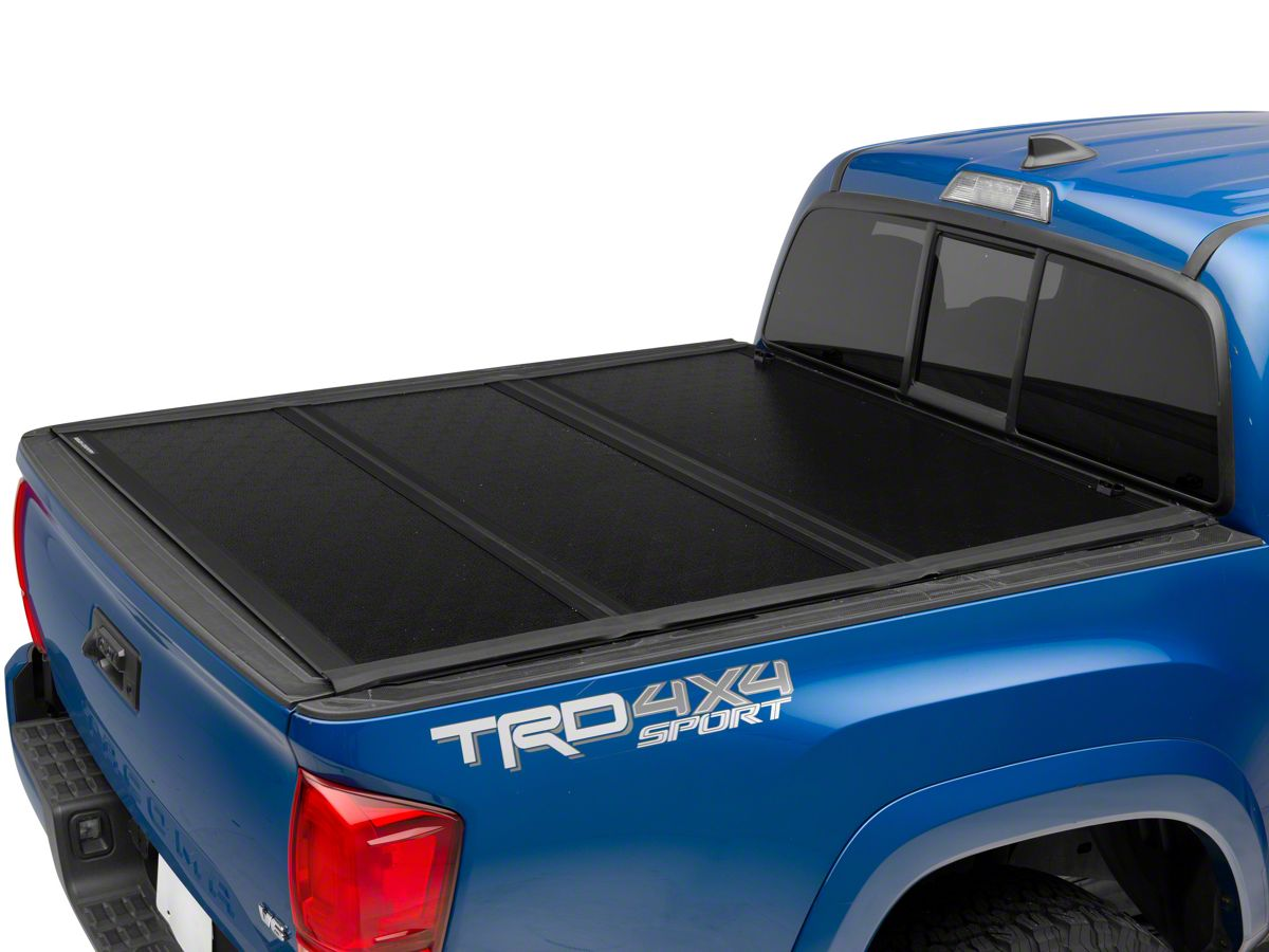 Tacoma Low Profile Hard Tri Fold Tonneau Cover 16 20 Tacoma