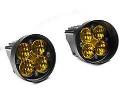 Baja Designs Squadron-R Sport Amber LED Fog Light Pocket Kit (12-21 Tacoma)