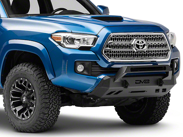 DV8 Offroad Center Mount Winch Capable Front Bumper (16-20 Tacoma)