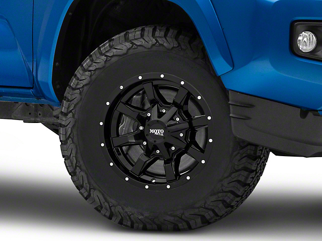 Moto Metal MO970 Gloss Black 6-Lug Wheel; 16x8; 0mm Offset (16-21 Tacoma)