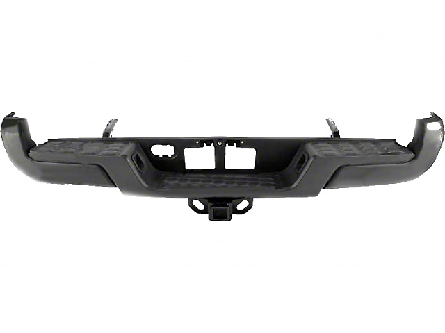 Rear Bumper; Black (16-21 Tacoma)