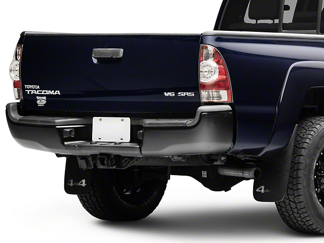 Rear Bumper; Black (05-15 Tacoma)